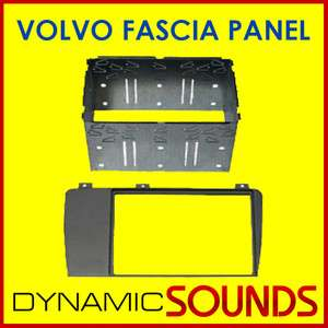 VOLVO S60 S80 V70 XC70 Car CD Stereo Double Din Fascia Fitting Kit