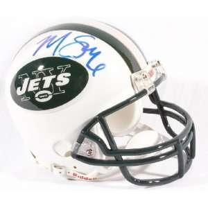 Mark Sanchez Jets Mini Helmet   GAI   Autographed NFL Mini Helmets