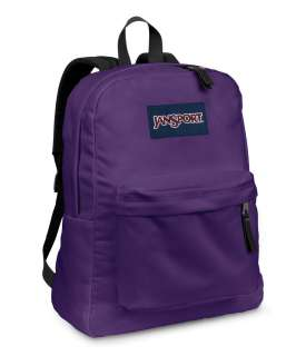 Jansport SuperBreak Electric Purple Backpack School Bookbag T501 4UT