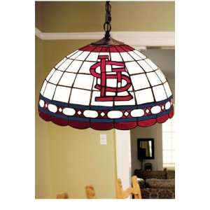 Team Logo Hanging Lamp 16hx16l Stlouis Cardinl Home