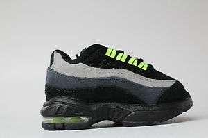 Black Light Reactive Neon Party Streamers #1: nike air max 95 td black light grey neon green toddler