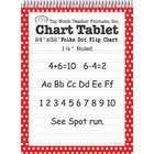 ERC Quality Polka Dot Chart Tablet Red 1.5 Ruled By Top Notch Teacher