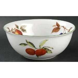 Royal Worcester Evesham Vale 12 Large Salad Serving Bowl, Fine China