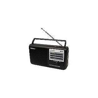 AM/FM/TV/Weather Band Table Radio, Portable  Sony Computers