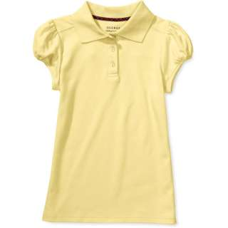 George Girls Short Sleeve Polo Shirt