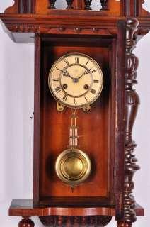 Antique German Junghans Pendulum Wall Clock approx.1900