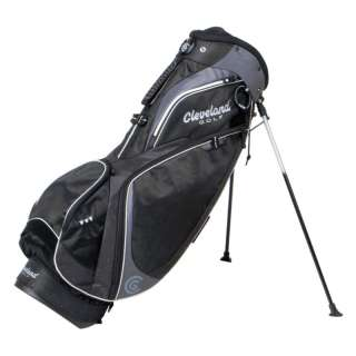 New Cleveland Golf CG Premium Stand Golf Bag Black
