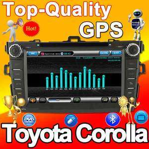 GPS Radio Navigation Car DVD 2011map TV Toyota Corolla