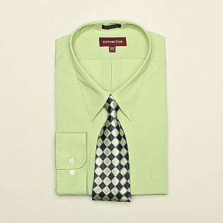 Dress Shirt and Silk Tie Box Set  Covington Clothing Mens Shirts