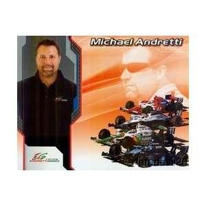 2008 Michael Andretti Andretti Green Indy Car postcard
