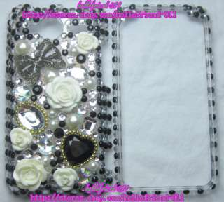 New Rhinestone BLing Full Case for HTC EVO Shift 4G #4