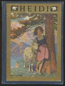 SPYRI Heidi. Illustrator/Jessie Willcox Smith, FE 1922