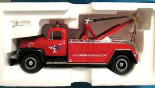 FIRST GEAR INTERNATIONAL TOW TRUCK R200 MINT NFRB ALL AMERICAN PLAZAS