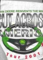 2001 John Deere Lawn Tractor John Deere T Shirt RARE