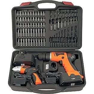 Combo Cordless Drill & Driver  Trademark Tools Tools Portable Power