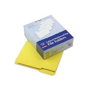 Reinforced Top Tab Colored File Folders