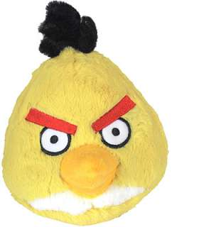 Angry Birds 5 inch Plush with Sound   Yellow   Commonwealth Toys