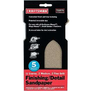 Craftsman Tools Power Tool Accessories Sandpaper & Abrasives
