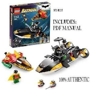 Lego 7885 Robins Scuba NO BOX NO Paper Manual No stickers