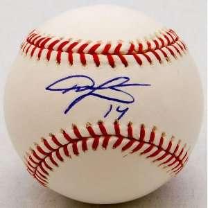 Austin Jackson Signed Baseball   Autographed Baseballs