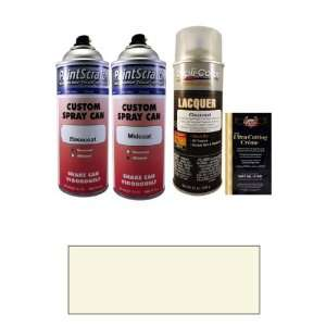 Oz. White Pearl Tricoat Spray Can Paint Kit for 2010 Volvo XC90 (453