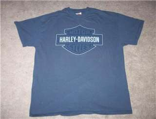 Boston Harley Davidson Motor Cycles T Shirt Extra Large