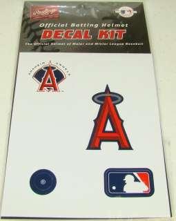 ANAHEIM ANGELS MLB Batting Helmet Rawlings DECAL KIT
