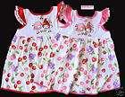 NEW Girls Cute Summer Dress 100% Cotton Minnie Mouse