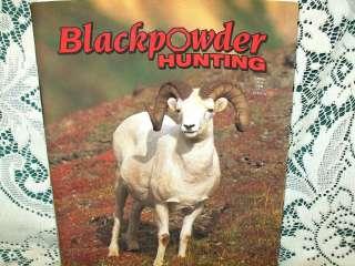 BLACKPOWDER HUNTING 6/98~DALL SHEEP~FORSYTH BARREL~REMINGTON 700
