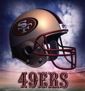 SAN FRANCISCO 49ERS HELMET LOGO NFL FRIDGE MAGNET