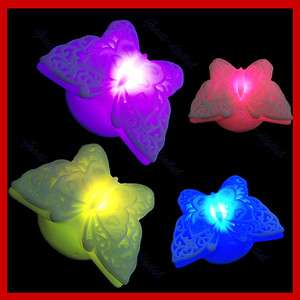Lovely Butterfly 7 Color Change LED Night Light Lamp