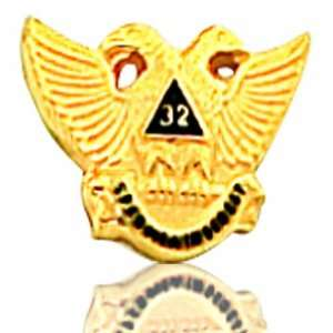 Masonic 10K Yellow Gold Trims Jewelry