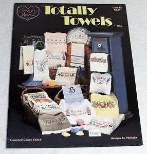 Cross My Heart Totally Towels Counted Cross Stitch Book
