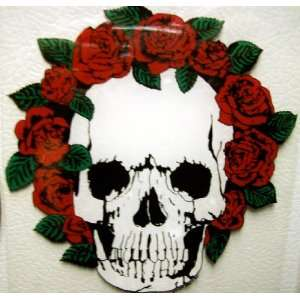 Grateful Dead FL. SKULLS AND ROSES Jerry Garcia Hippie Hippy Cool