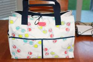 Kate Spade Pass The Shades Large George Canvas Beach Tote Bag