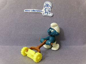 SUPER SMURF    Vintage    Lawn Mower Grass Cutter
