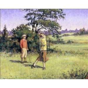 Lady Golfer    Print