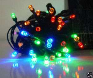 Solar Power garden Christmas LEDs String Lights Color