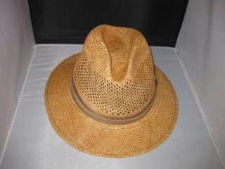 NEW $98~TOMMY BAHAMA~MENS GENUINE PANAMA FEDORA SHADE MAKER HAT~HAND