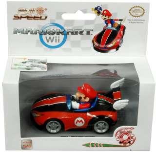 Super Mario Bros Nintendo Wii Pull & Speed Kart Mario