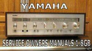 YAMAHA SERVICE MANUAL TUNER AMP RECEIVER PDF DVD BOOK
