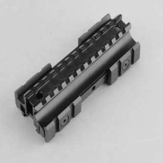 9x42 COMPACT ILL. Rifle Scope W/ Flat Top Tri rail Riser Mount