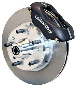 WILWOOD DISC BRAKE KIT,FRONT,70 72 PLYMOUTH BARRACUDA