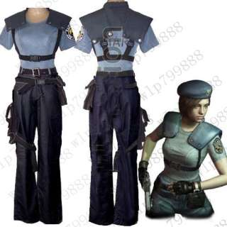 Resident evil 5 jill valentine anime cosplay costume HOT NEW