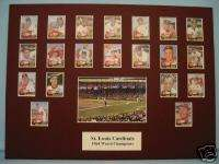 St. Louis Cardinals 1964 World Series Champions