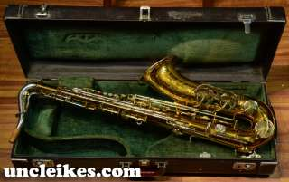 Vintage King Super 20 Silversonic Tenor Saxophone Sax