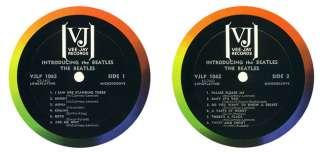 1964 VJ INTRODUCING THE BEATLES MONO ALBUM SW COVER