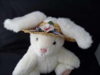 Hallmark Cards Plush Stuffed Easter Bunny Rabbit CUTE
