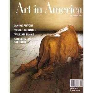 Art in America Magazine   September 2001 Various Books