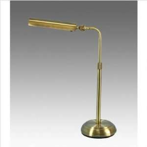 Full Spectrum Adjustable Table Lamp, BRUSHED NICKEL